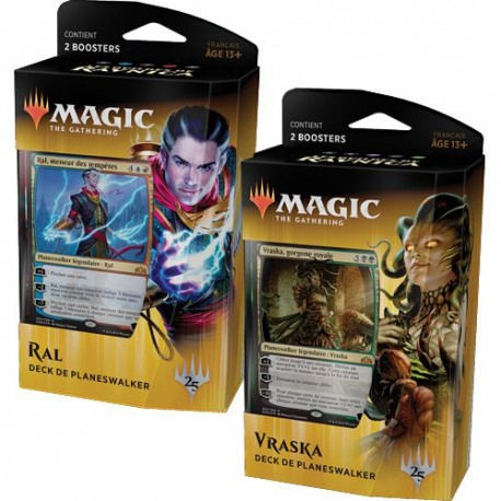 LOT 2 Planeswalkers Decks Guilds Of Ravnica Français - Magic The Gathering