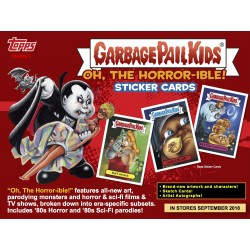 Collection Complète SET A Oh The Horror - Ible (Garbage Pail Kids) - Les Crados 2018