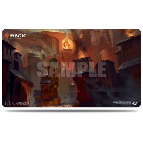 Tapis de jeu - Magic The Gathering - Guilds of Ravnica - Sacred Foundry