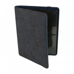 Portfolio 4 Cases (160 cartes / 20 Pages) Premium BlackFire - Blue