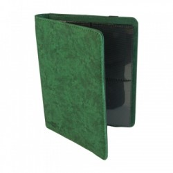 Portfolio 4 Cases (160 cartes / 20 Pages) Premium BlackFire - Green