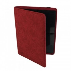 Portfolio 4 Cases (160 cartes / 20 Pages) Premium BlackFire - Red