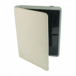 Portfolio 4 Cases (160 cartes / 20 Pages) Premium BlackFire - White