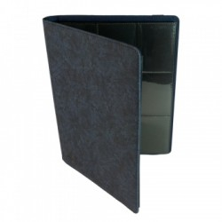 Portfolio 9 Cases (360 cartes / 20 Pages) Premium BlackFire - Blue