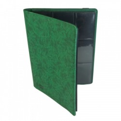 Portfolio 9 Cases (360 cartes / 20 Pages) Premium BlackFire - Green