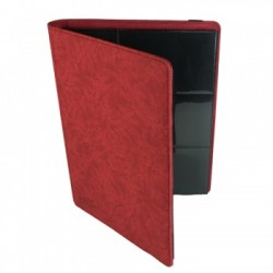 Portfolio 9 Cases (360 cartes / 20 Pages) Premium BlackFire - Red