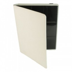 Portfolio 9 Cases (360 cartes / 20 Pages) Premium BlackFire - White