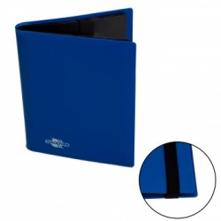 Portfolio 4 Cases (160 cartes / 20 Pages) Flexible BlackFire - Blue
