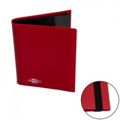 Portfolio 4 Cases (160 cartes / 20 Pages) Flexible BlackFire - Red