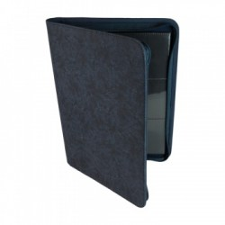 Portfolio ZIP 9 Cases (360 cartes / 20 Pages) Premium BlackFire - Blue