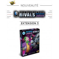 VF DC Comics - Deck Building - Extension n°3 : RIVALS, BATMAN VS JOKER