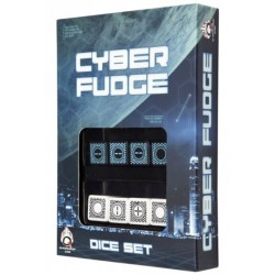 Cyber Fudge Dice set