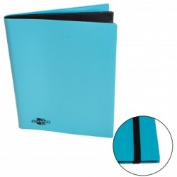 Portfolio - Album Flexible - Blackfire - 9 Cases / 360 Cartes - Light Blue