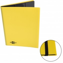 Portfolio - Album Flexible - Blackfire - 9 Cases / 360 Cartes - Yellow