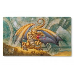 Dragon Shield Play Mat - Gold Gygex