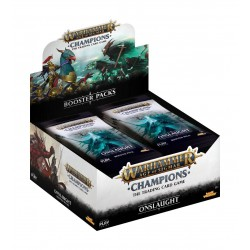 Boite de 24 Boosters de 13 Cartes Onslaught - Warhammer Age of Sigmar: Champions