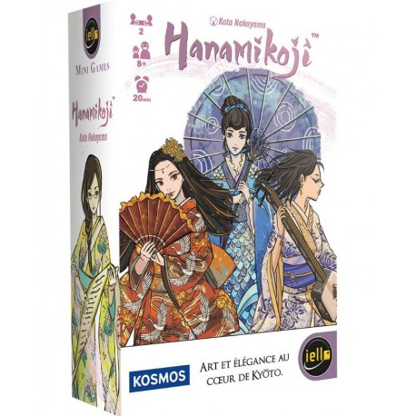 HANAMIKOJI - MINI GAMES - IELLO
