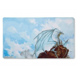 Dragon Shield Play Mat - Silver 'Caelum'