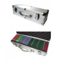"Lockable ""Quiver"" Case B3 - Silver"