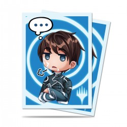 100 Protège-Cartes Magic The Gathering - Chibi Collection Jace - Sigh...