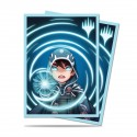 100 Protège-Cartes Magic The Gathering - Chibi Collection Jace - Mystic Standard