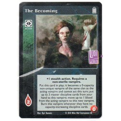 The Becoming - Cartes Vampire The Eternal Struggle