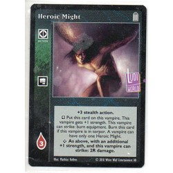 Heroic Might - Cartes Vampire The Eternal Struggle