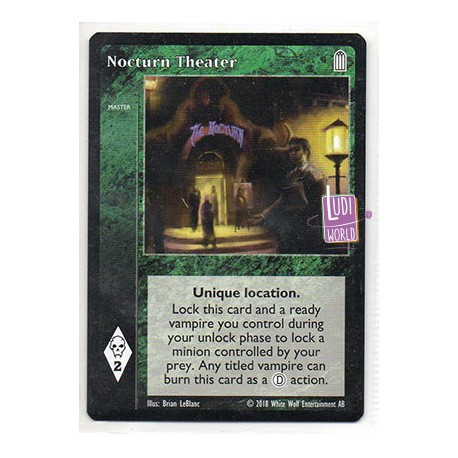 Nocturn Theater - Cartes Vampire The Eternal Struggle