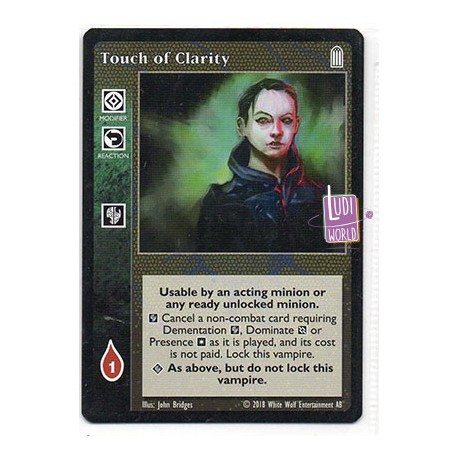 Touch of Clarity - Cartes Vampire The Eternal Struggle