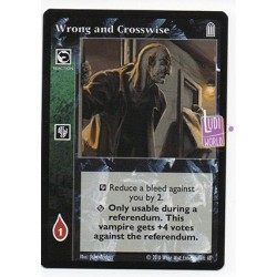 Wrong and Crosswise - Cartes Vampire The Eternal Struggle
