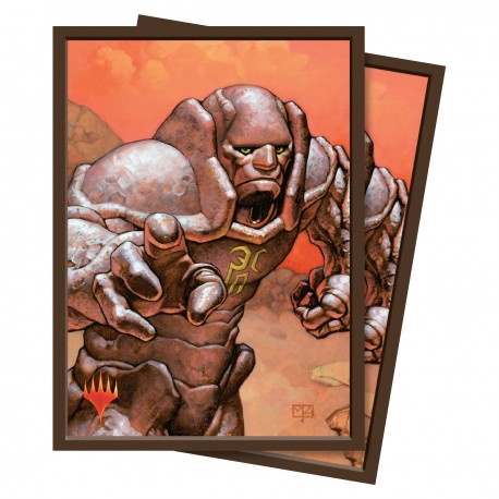 100 Protège-Cartes Magic The Gathering - Karn, Silver Golem