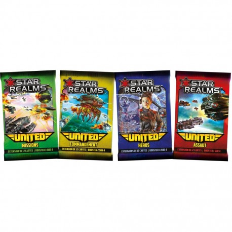 Star Realms - United Expansion - COllection COmplète