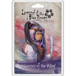 Warriors of the Wind - Licorne Clan Pack - Legend of the five Rins LCG