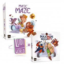 Pack Ludiworld Magic Maze + MAGIC MAZE - MAXIMUM SECURITY