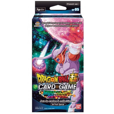 VF - Miraculous revival Special Pack Set - Dragon Ball Super Card Game