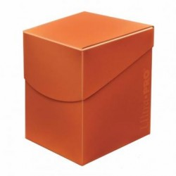 Deck Box Eclipse Pro 100 Ultra Pro - Pumpkin Orange