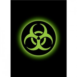50 Protèges Cartes Legion - Matte Sleeves - Absolute Iconic - Biohazard