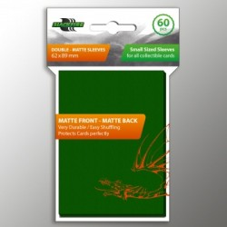 60 Protèges Cartes BlackFire - Taille Jap- Double-Matte Green