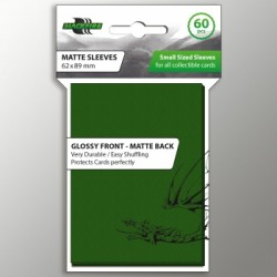 60 Protèges Cartes BlackFire - Taille Jap- Matte - Green