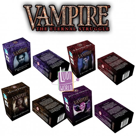 Pack 4 Starters 2019- Vampire The Eternal Struggle