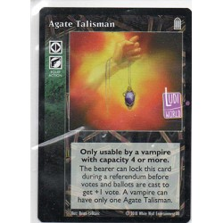 Agate Talisman Carte Vampire The Eternal Struggle