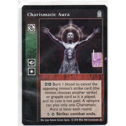 VO Charismatic Aura Carte Vampire The Eternal Struggle