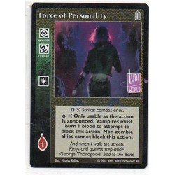 Force of Personality Carte Vampire The Eternal Struggle