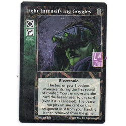 Light Intensifying Goggles Carte Vampire The Eternal Struggle