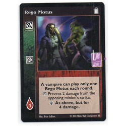 Rego Motus Carte Vampire The Eternal Struggle
