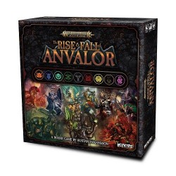 Warhammer Age of Sigmar jeu de plateau The Rise & Fall of Anvalor *ANGLAIS*