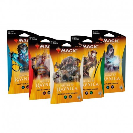 Guilds Of Ravnica Theme Booster Display - ANGLAIS - Magic The Gathering