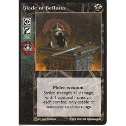 Blade of Bellona Cartes Vampire The Eternal Struggle - VTES