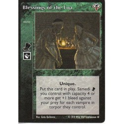 Blessings of the Loa Cartes Vampire The Eternal Struggle - VTES