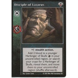 Disciple of Lazarus Cartes Vampire The Eternal Struggle - VTES